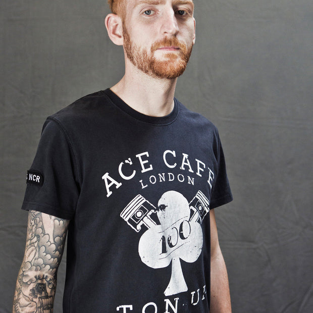 Ace Cafe' Rockers Ton Up (Mens) T-Shirt