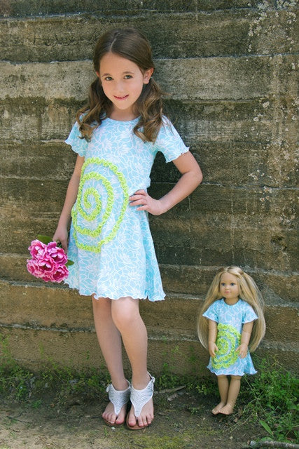 Shelley dress - Tropical Summer