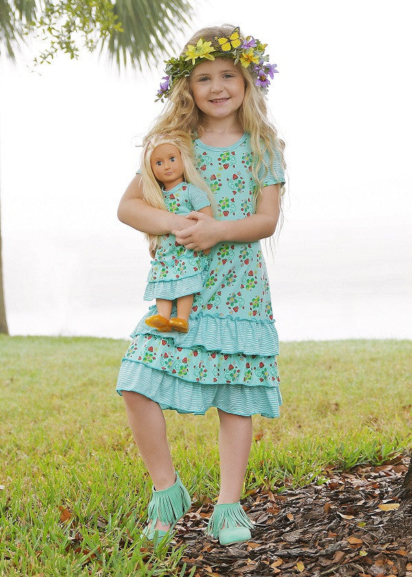 Nina dress - Turquoise Skies  size 6, 8, 10, 12