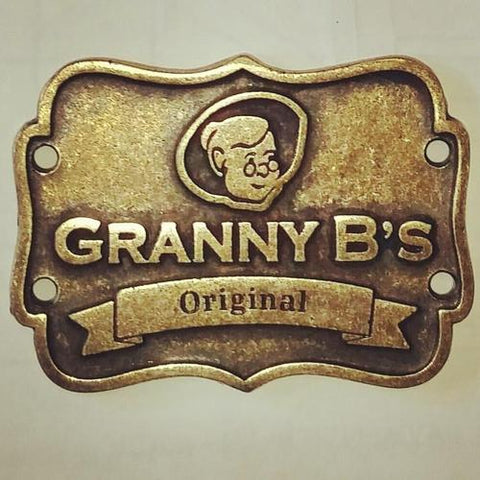 Granny B's - Designer 'Brass' Label - Granny B's Old Fashioned Paint