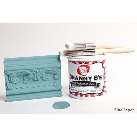 Old Fashioned Paint - Blue Bayou (Turquoise) - Granny B's Old Fashioned Paint
