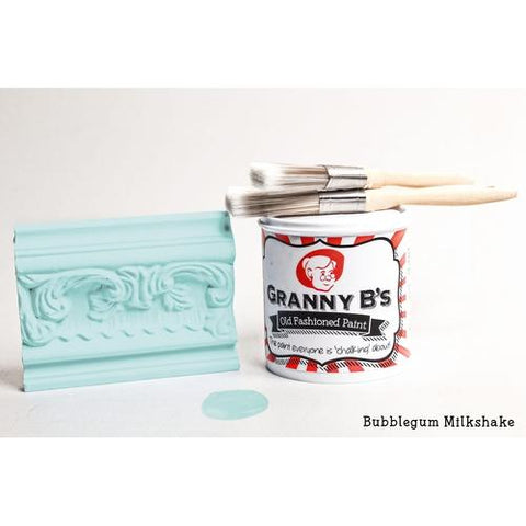 Old Fashioned Paint - Bubblegum Milkshake (Pale Blue) - Granny B's Old Fashioned Paint