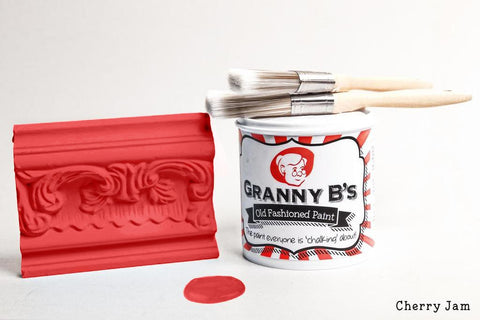 Old Fashioned Paint - Cherry Jam (Pink Red) - Granny B's Old Fashioned Paint