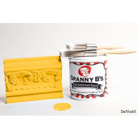 Old Fashioned Paint - Daffodil (Golden Yellow) - Granny B's Old Fashioned Paint