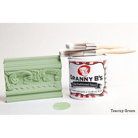 Old Fashioned Paint - Teacup Green (Duck Egg Blue) - Granny B's Old Fashioned Paint