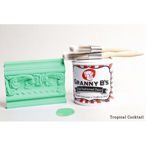 Old Fashioned Paint - Tropical Cocktail (Tropical Blue) - Granny B's Old Fashioned Paint