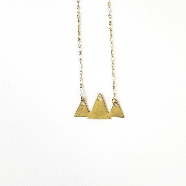 Beauty For Ashes - Mountain Peaks Necklace - Jewelry - Ethical Trading Company