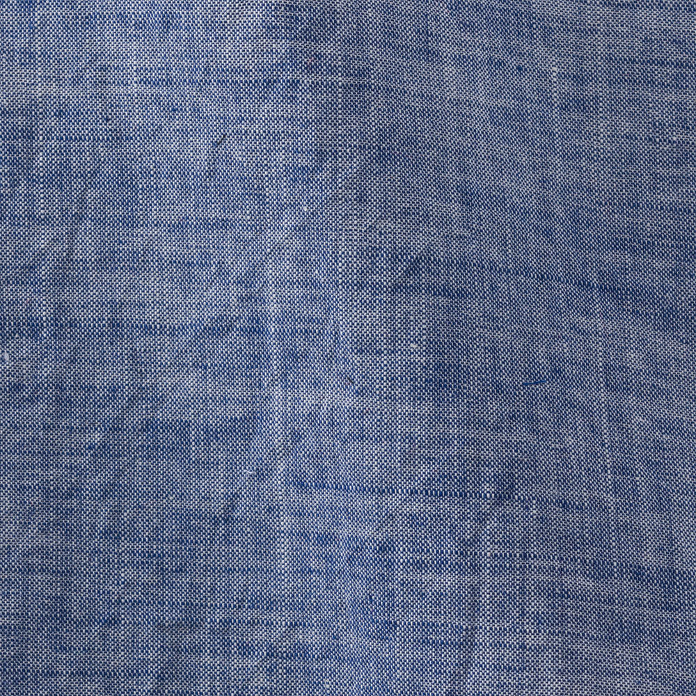 blue chambray Fabric Swatch