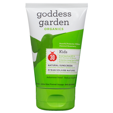 Goddess Garden Organics Kids Natural Mineral Sunscreen SPF30