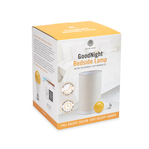 GOODNIGHT®  |  BEDSIDE TABLE LAMP INCLUDES GOODNIGHT® SLEEP-ENHANCING A19 LED BULB