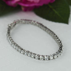 10 ctw Eternity Tennis Bracelet - 40% Final Sale - Available mid August