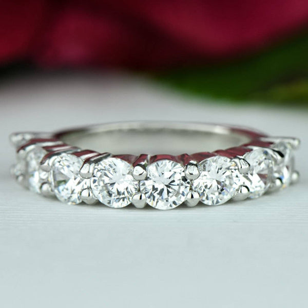 2.5 ctw Half Eternity Band - Available 3rd week of July 2019