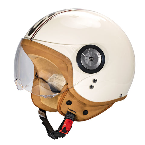 Cratoni-Milano Motorcycle Helmet-Moped Helmet-Small (55-56 cm)-Cream-urban.ebikes