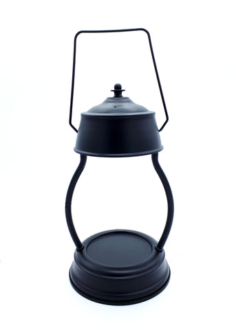 Black Electric Candle Warmer Lantern Lamp 35w - Candles Sniffs & Gifts