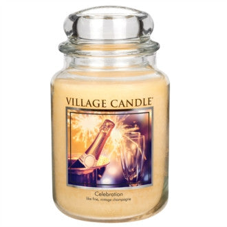 Village Candle Celebration Large Jar 26oz 1219g - Candles Sniffs & Gifts