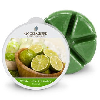 White Lime & Bamboo Goose Creek Scented Wax Melts - Candles Sniffs & Gifts