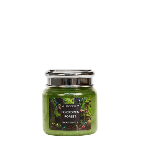 NEW Village Candle Fantasy Collection Forbidden Forest Petite Jar 3.75oz - Candles Sniffs & Gifts