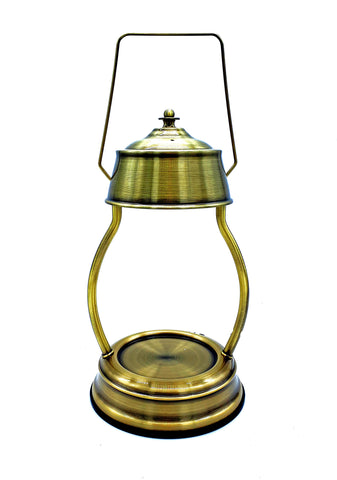 Antique Gold Electric Candle Warmer Lantern Lamp 35w - Candles Sniffs & Gifts