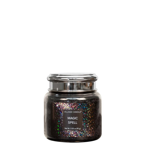 NEW Village Candle Fantasy Collection Magic Spell Petite Jar 3.75oz - Candles Sniffs & Gifts
