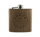 MINDFULLY CRAFTED - WOOD WRAPPED FLASK