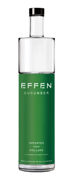 EFFEN CUCUMBER VODKA (375ml - HALF bottle)