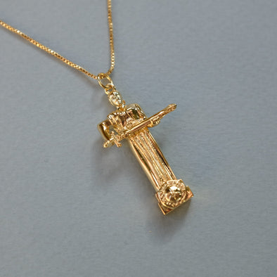 Gold Plated Mother Armenia Necklace