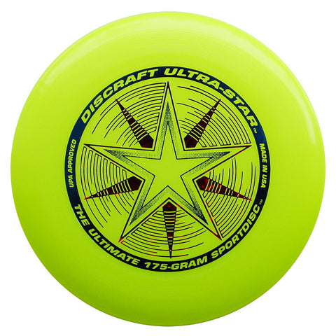 School 10 Pack Discraft Ultra-Star | Championship 175g Ultrastar Ultimate Frisbee Disc