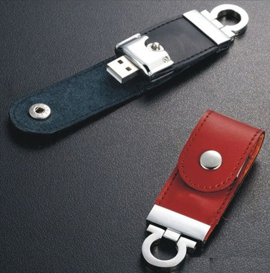 ip-002 USB Flash Leather Keychain, for Premium Gift, Promotion Gift (MOQ Required) - i-s-mart.com | No.1 Branded Online Shop in Cambodia