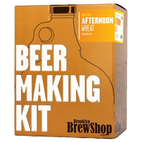 Brooklyn BrewShop Beer Making Kit: Afternoon Wheat