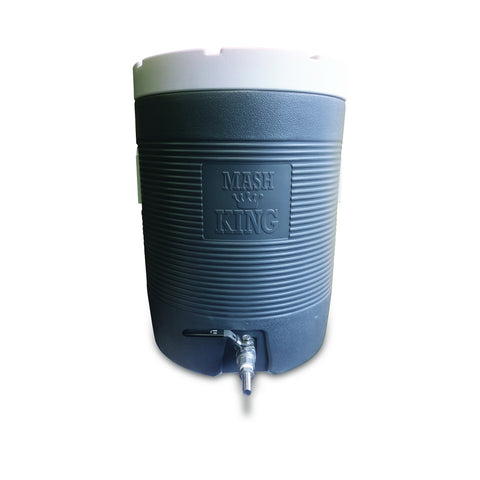 """Mash King"" Cooler Mash Tun with 6"" Bazooka Screen"
