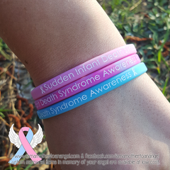 Sudden Infant Death Syndrome Awareness Wristband