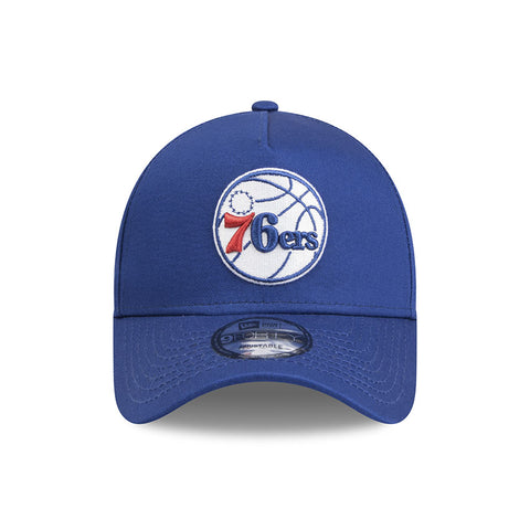 Philadelphia 76ers Heather Grey Youth 9forty Adjustable Cap