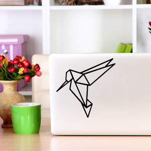 Geometric Hummingbird | Laptop Decal | Macbook Decal | Adnil Creations