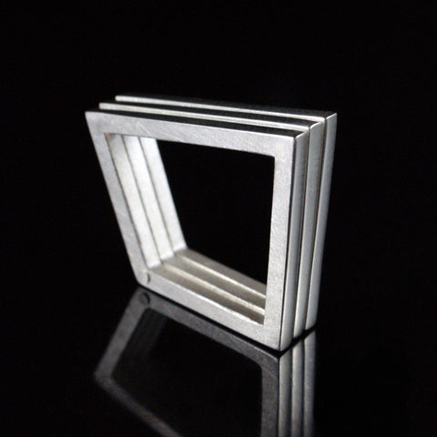 kinetic geometric ring