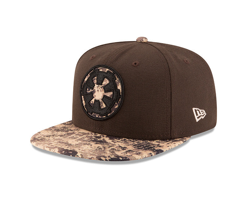 STAR WARS ROGUE ONE EMPIRE CAMO NEW ERA 9FIFTY SNAPBACK CAP