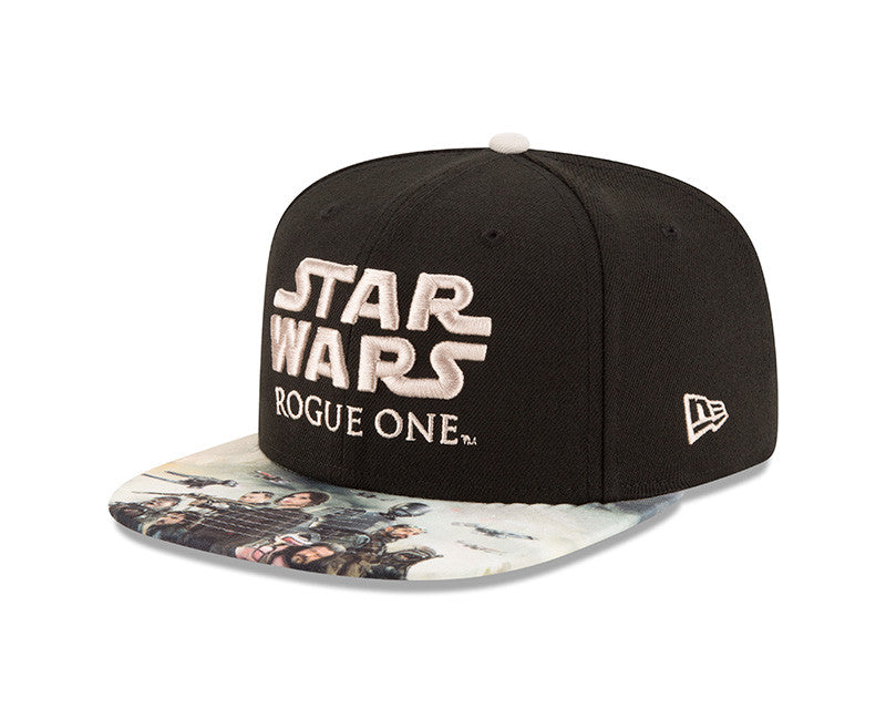 STAR WARS ROGUE ONE  MULTI CHARACTER NEW ERA 9FIFTY SNAPBACK CAP