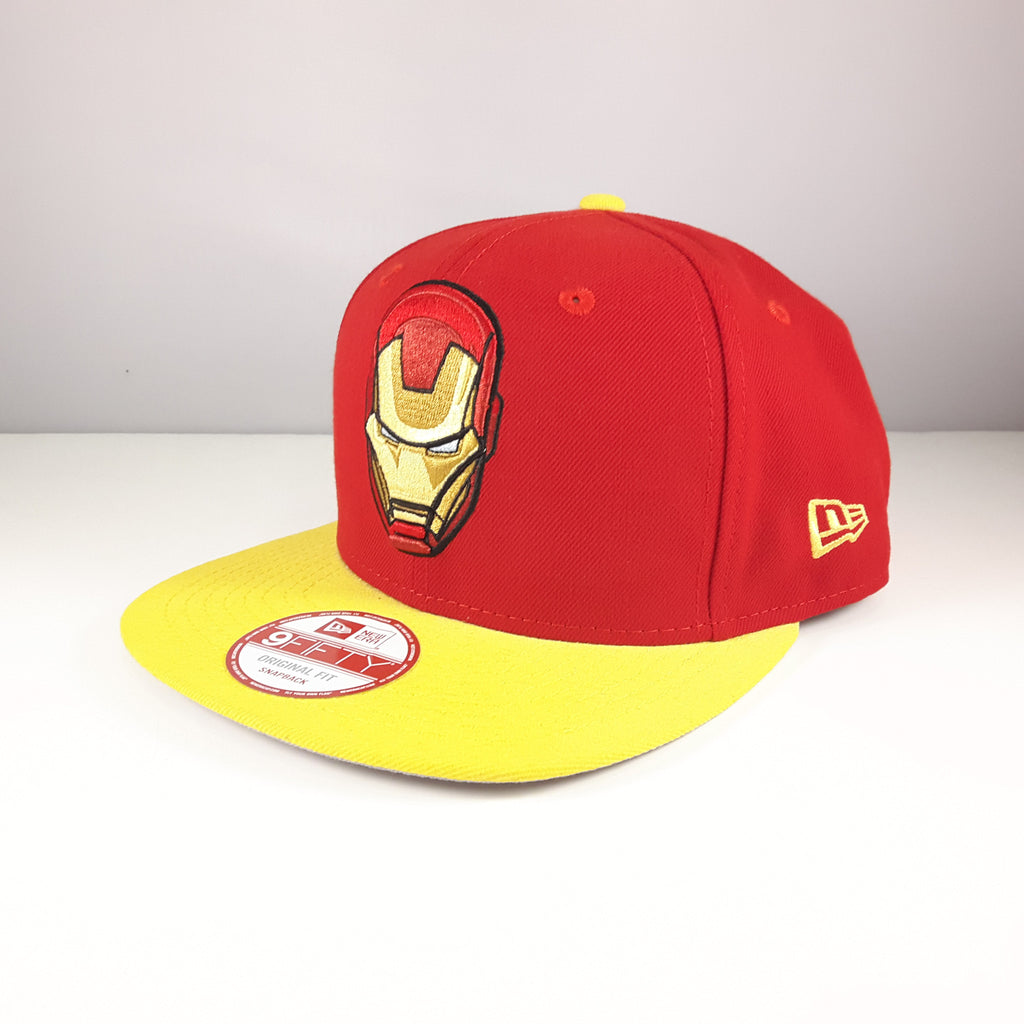 Quarter Sublimated Marvel Iron Man New Era 9Fifty Snapback Cap