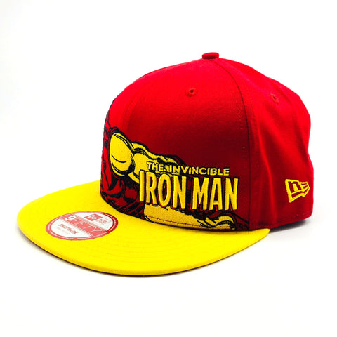 Marvel Iron Man Hero Stance New Era 9Fifty Snapback Cap