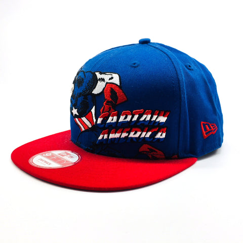 Marvel Captain America Hero Stance New Era 9Fifty Snapback Cap