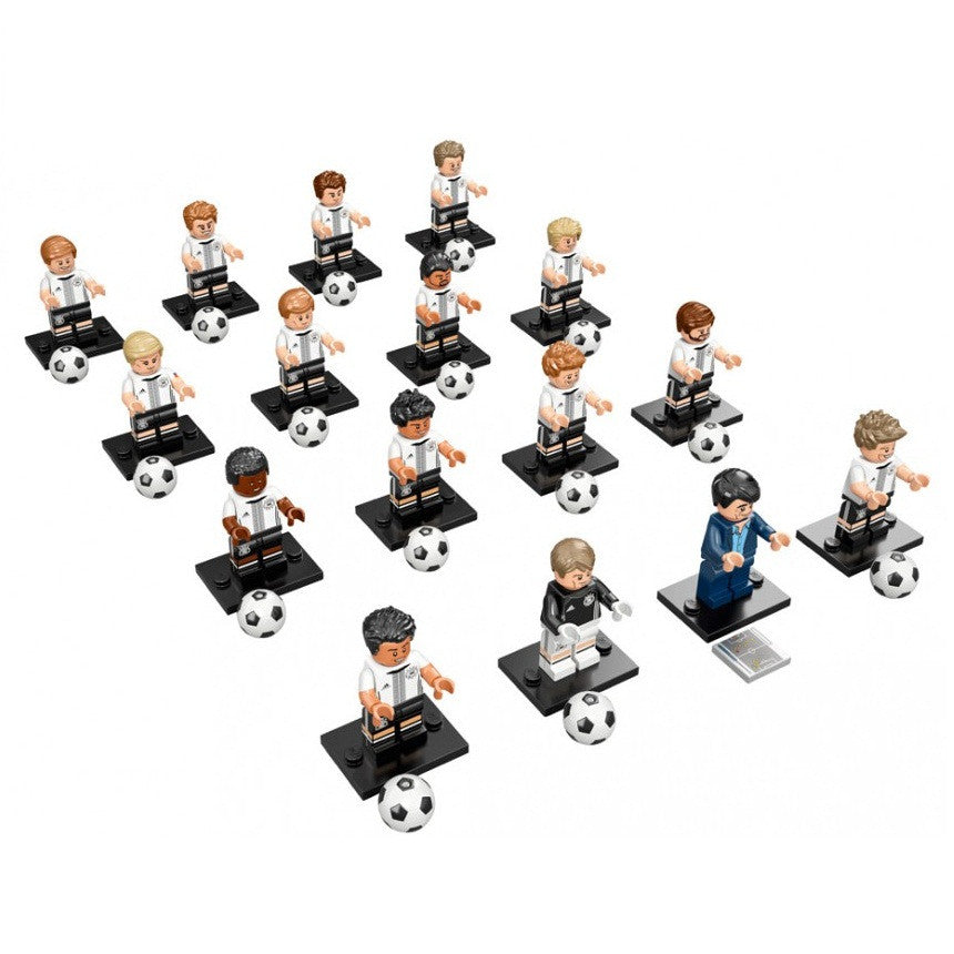 LEGO 71014 DFB German Football Team Minifigures Complete Collection of 16