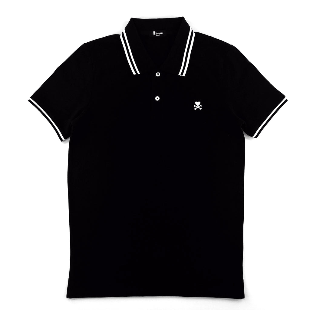 Tokidoki Basic Black Polo T-Shirt