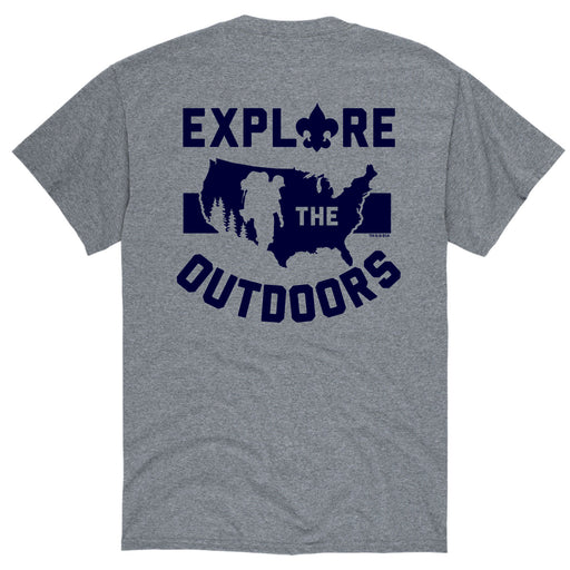 Explore The Outdoors - Men's Short Sleeve T-Shirt