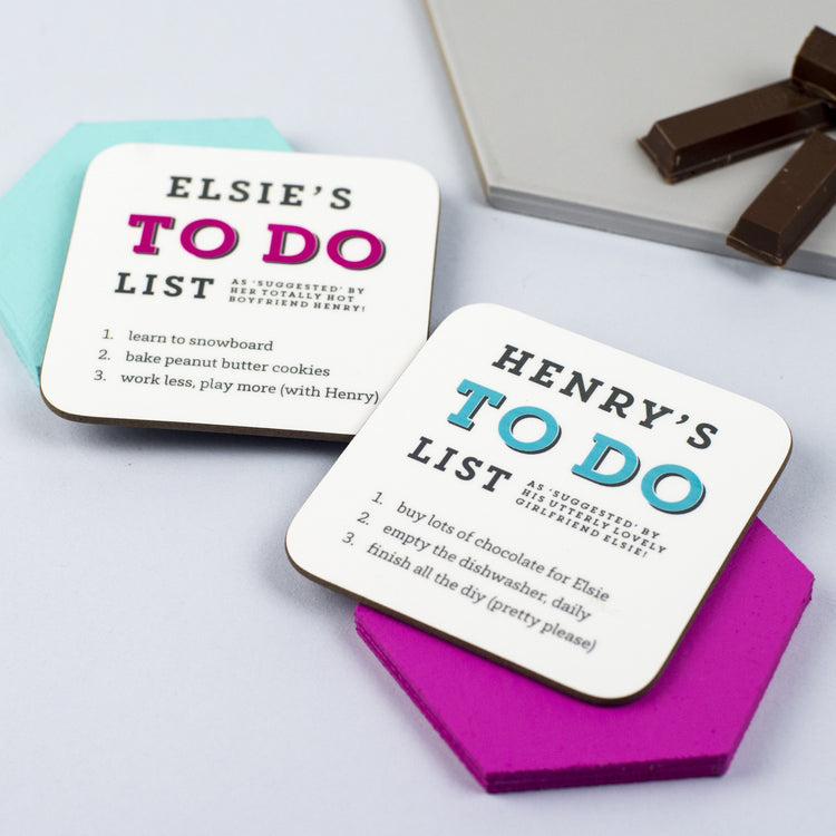 To Do List Coaster