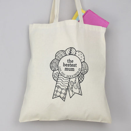 Bestest Mum Mother's Day Tote Bag
