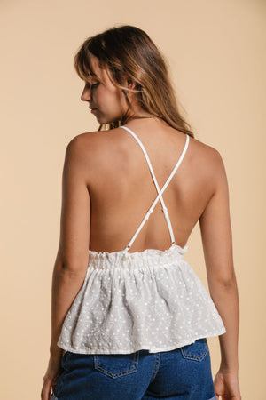Camisole with triangles