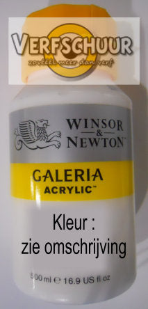 "W&N. ACRYLIC ""GALERIA"" 500 ML. process magenta 533 2150533"