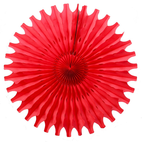 Red Tissue Fan - Small