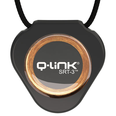 Q-Link Replacement Pendant Cord (Black Waxed Cotton)