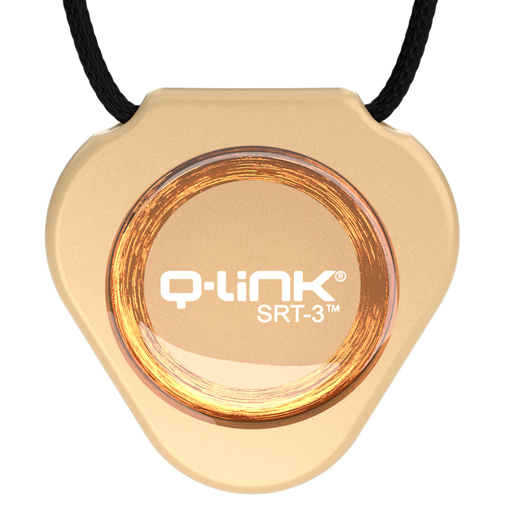 Q-Link Acrylic SRT-3 Pendant (Candlelight Pearl) - NEW!