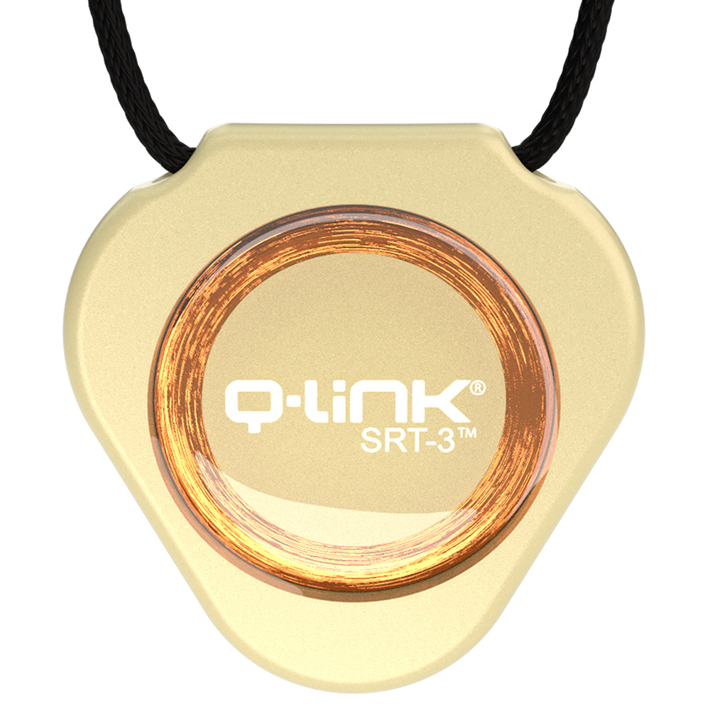 Q-Link Acrylic SRT-3 Pendant (Champagne Pearl) - NEW!